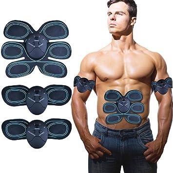 ISUDA EMS Trainingsgerät Bauchmuskeltrainer Muskelaufbau für Herren Damen