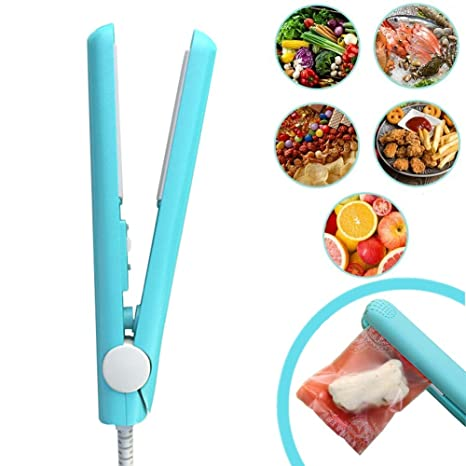 Food Bag Heat Sealer Handheld, Portable Mini Sealer Machine for Airtight Food Storage and Reseal Potato Chip Snack Bags, Household Appliances for ...