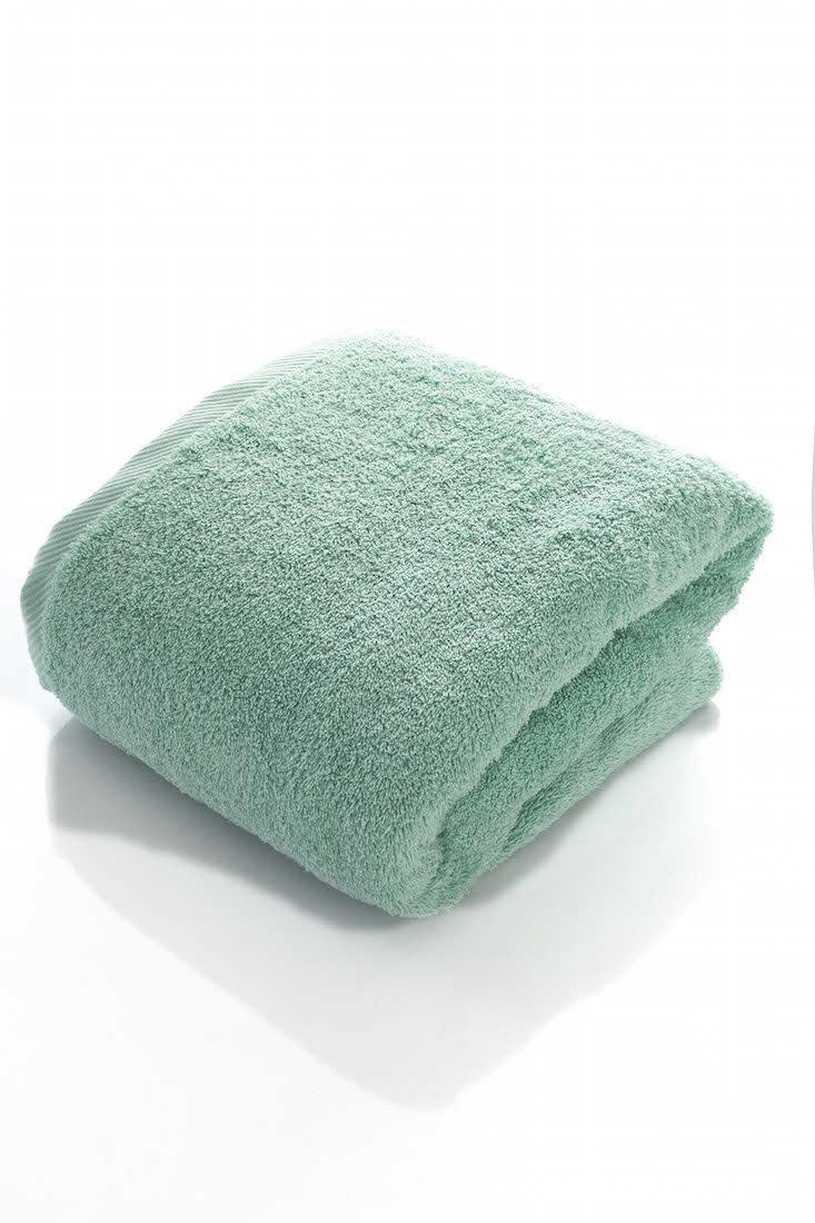 THIRSTY 100% Non-GMO Turkish Cotton Bath Sheet, Extra Long 40''x80'', Towels, 670 GSM Weight. (40X80, Seafoam)