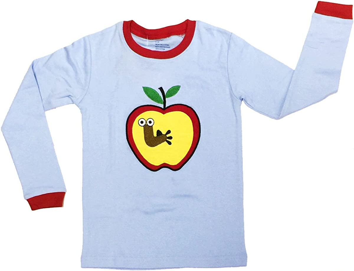 Bowbear Kids Fun and Playtime Yummy Apple Pajama Set