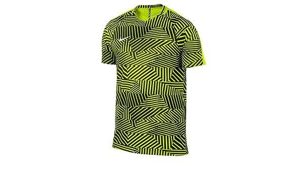 Nike M NK Dry Top SS SQD GX Camiseta de Manga Corta, Hombre: Amazon.es: Deportes y aire libre