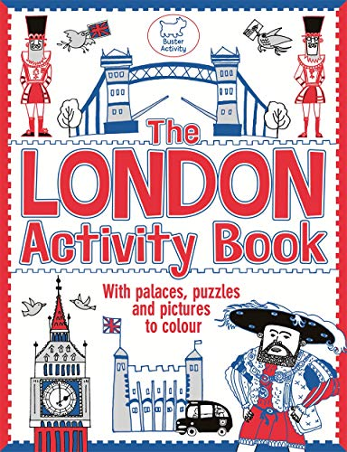 The London Activity Book: With Palaces, Puzzles and Pictures to Colour (Picture Palace)
