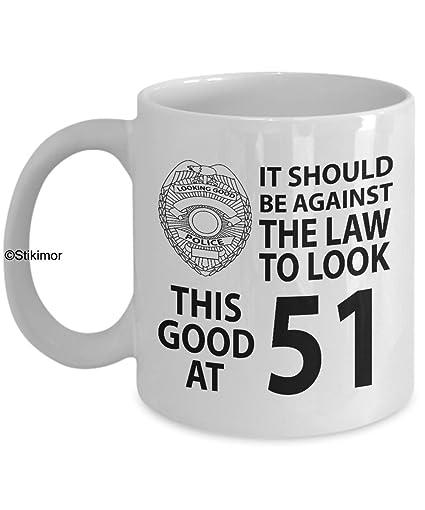 Amazon 51st Birthday Gift Mug