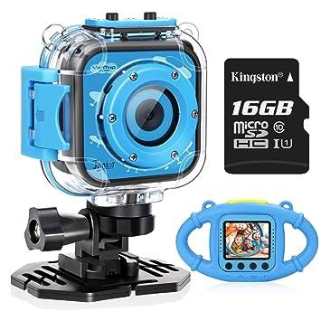 Amazon.com: VanTop Junior K3 Kids Camera, 1080P Supported ...