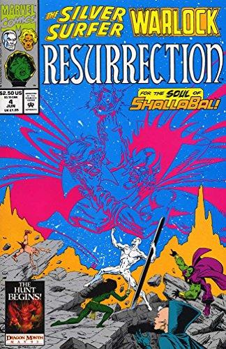 SILVER SURFER & WARLOCK RESURRECTION (1993)1-4
