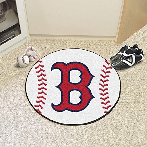 MLB Boston Red Sox Baseball Round Mat