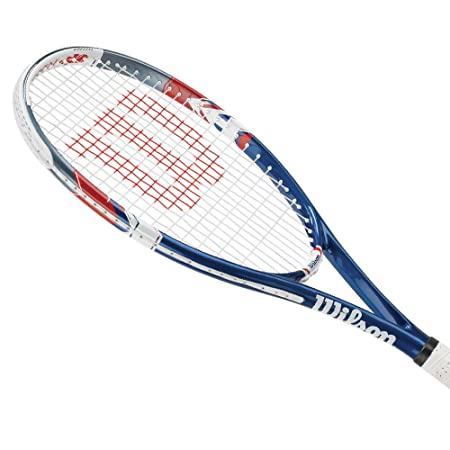 Wilson US Open Pre-Strung Recreational Tennis Racquet Kit or Set Bundled with (1) Can of 3 US Open Extra Duty Tennis Balls
