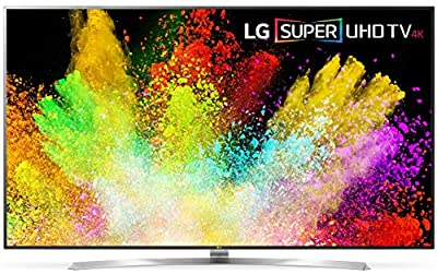 LG Electronics 75SJ8570 75-Inch 4K Smart LED TV (2017 Model) (Certified Refurbished)