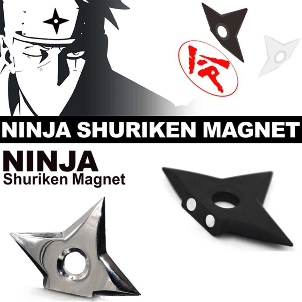 youthgo 2 Ninja Shuriken imanes Cool Throwing Star imanes ...