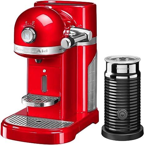 KitchenAid - Kit de cafetera Nespresso, color rojo: Amazon.es: Hogar