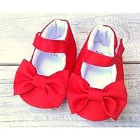 Zapato para bebé rojo