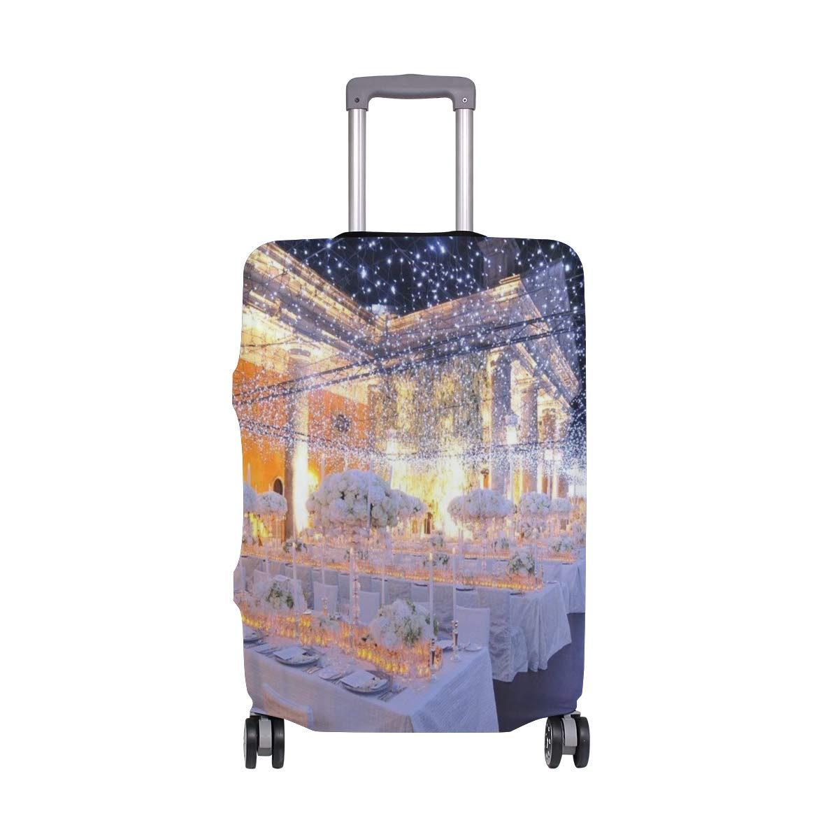 Travel Suitcase ProtectorStarry Wedding Luggage Cover 26-28Inch