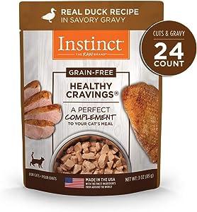 Instinct Healthy Cravings Grain Free Recipe Natural Wet Cat Food Toppers