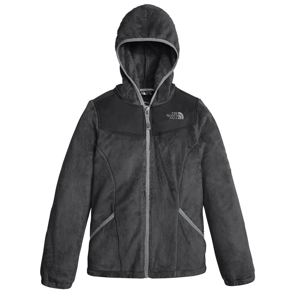 The North Face Girl's OSO Hoodie - Graphite Grey - XS (Past Season)