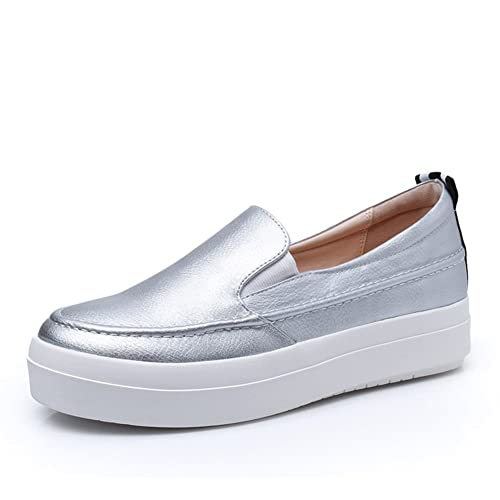 2016zapatos de primavera/Los zapatos con suela gruesa del mollete/mocasines-C Longitud