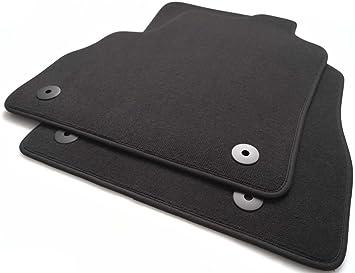 Kh Teile Fußmatten Zafira C D Original Qualität Automatte Velours 2 Teilig Vorn Schwarz Auto