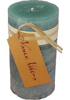 Amazon.com: Vance Kitira Timber Pillar Candle-Grape Green: Home ...