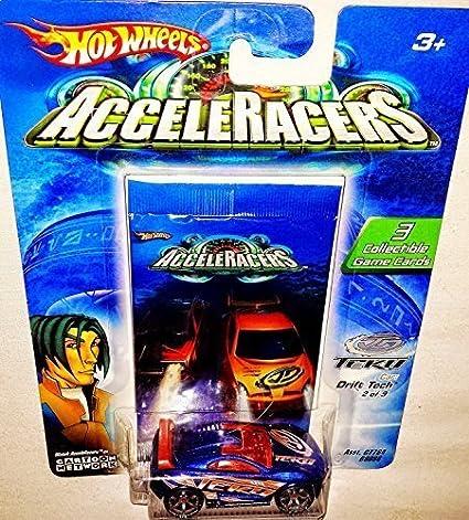 Hot Wheels AcceleRacers Teku #2 of 9 - Drift Tech (Orange spoiler version) by Hot Wheels: Amazon.es: Juguetes y juegos