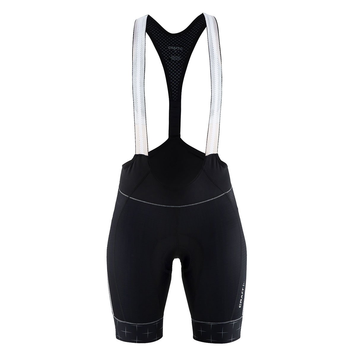 Image of Active Shorts Craft Womens Bib Bike Short: Reflective Glow Cycling Shorts