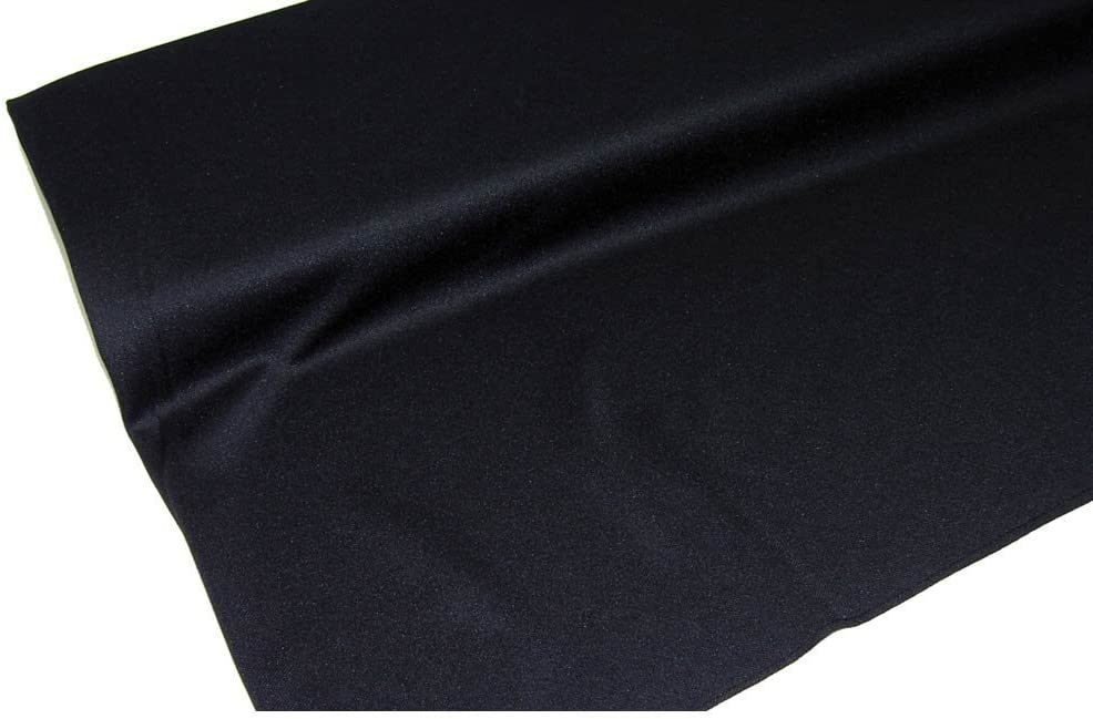 Jet Black Speaker Grill Cloth 9 Inch x 9 Inch, A-9