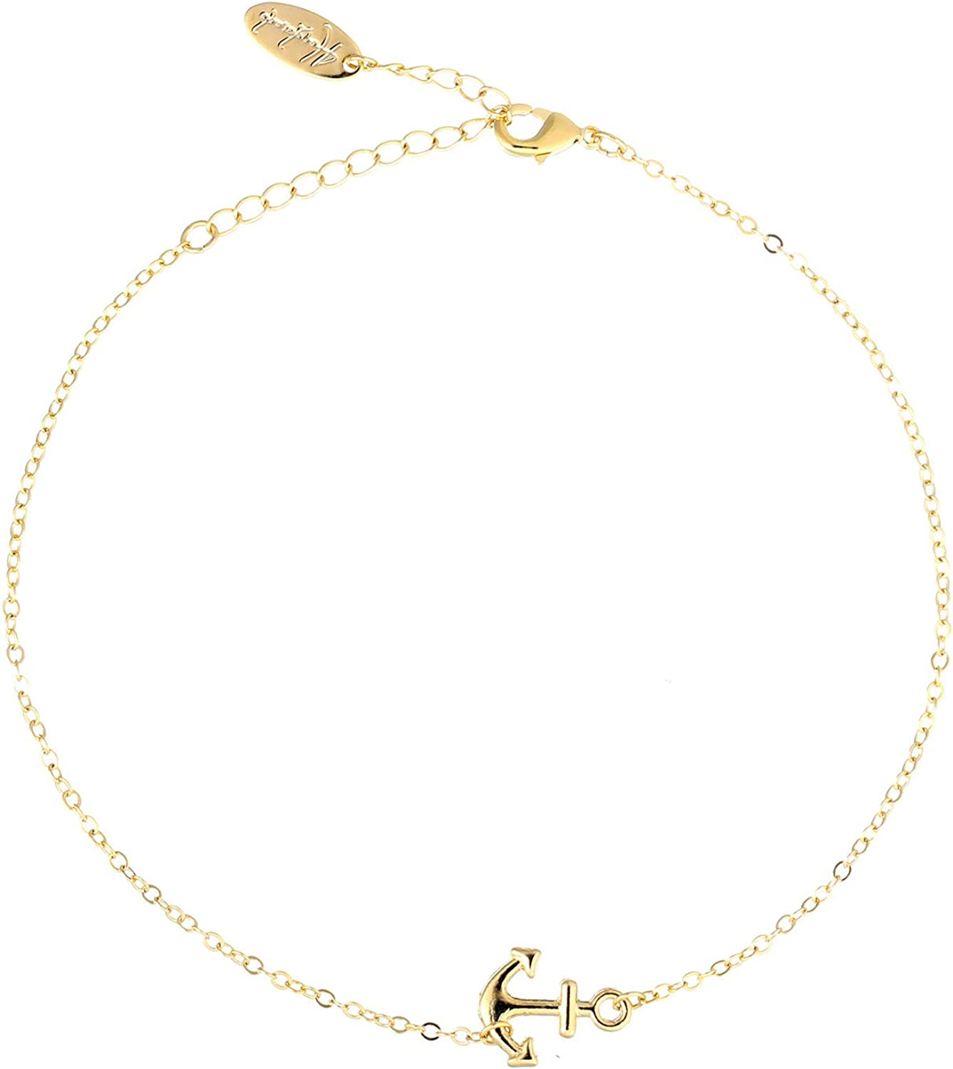 14K Yellow Gold-plated 925 Silver Love Me Im Cross Pendant with 16 Necklace Jewels Obsession Cross Necklace