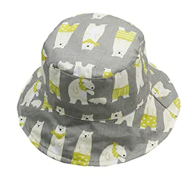 6364002d9dd8 Amazon.com: Baby Girls Sun Protection Hat Double Sides UPF 50+ ...