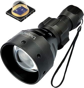 T67 Infrared Light Torch Flashlight Hunting Night Vision IR 850nm 18650 Lamp