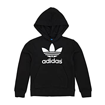 adidas Originals Sudaderas - Adidas Originals Junior Adi Trefoil Hoodie - Black/White, Unisex Adultos, negro, 09-10 Años: Amazon.es: Deportes y aire libre