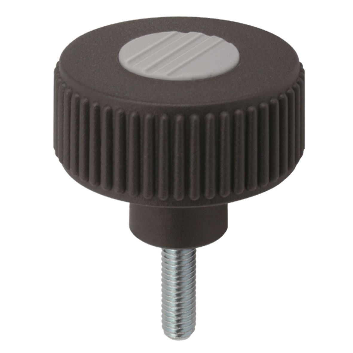 M8 Male 96 mm Height Kipp 06267-52086X60 Thermoplastic Novo-Grip Tapped Through Hole Knurled Wheel Pack of 10 50 mm Diameter Red 60 mm Screw Length Stainless Components Size 2 Style L