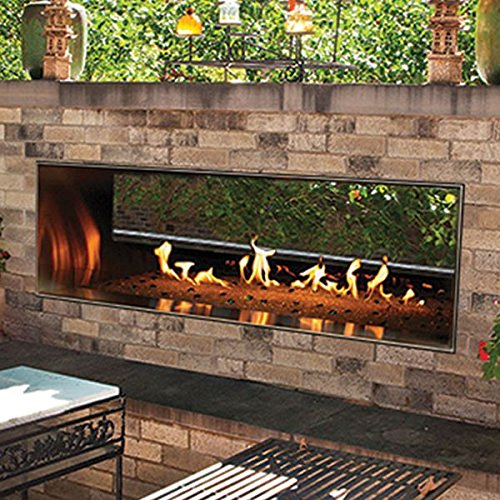 Outdoor See Through Fireplace (Outdoor 60
