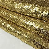 TRLYC 24Inch by 15FT Wedding Sequin Aisle Runner