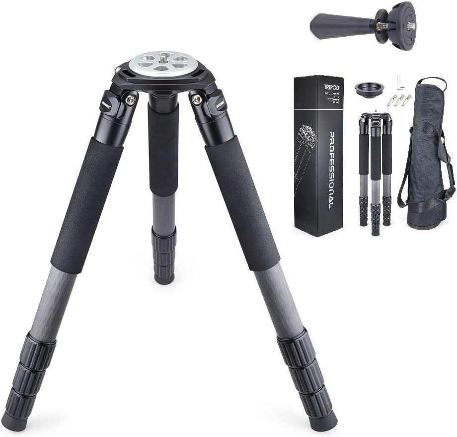 Carbon Fiber Tripod INNOREL RT90C Bowl Tripods Professional Heavy Duty Camera Stand with 75mm Bowl Adapter for DSLR Cameras Compatible with Ball Head ...