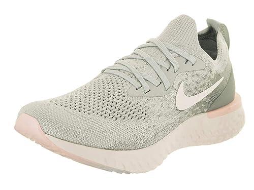 58d681f6ef9a0 Nike Women s Wmnsepic React Flyknit Low-Top Sneakers  Amazon.co.uk  Shoes    Bags