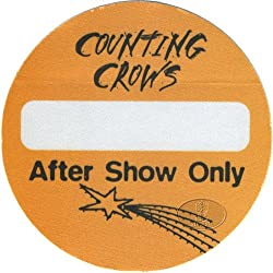 Counting Crows 1996 Satellites Tour Backstage Pass