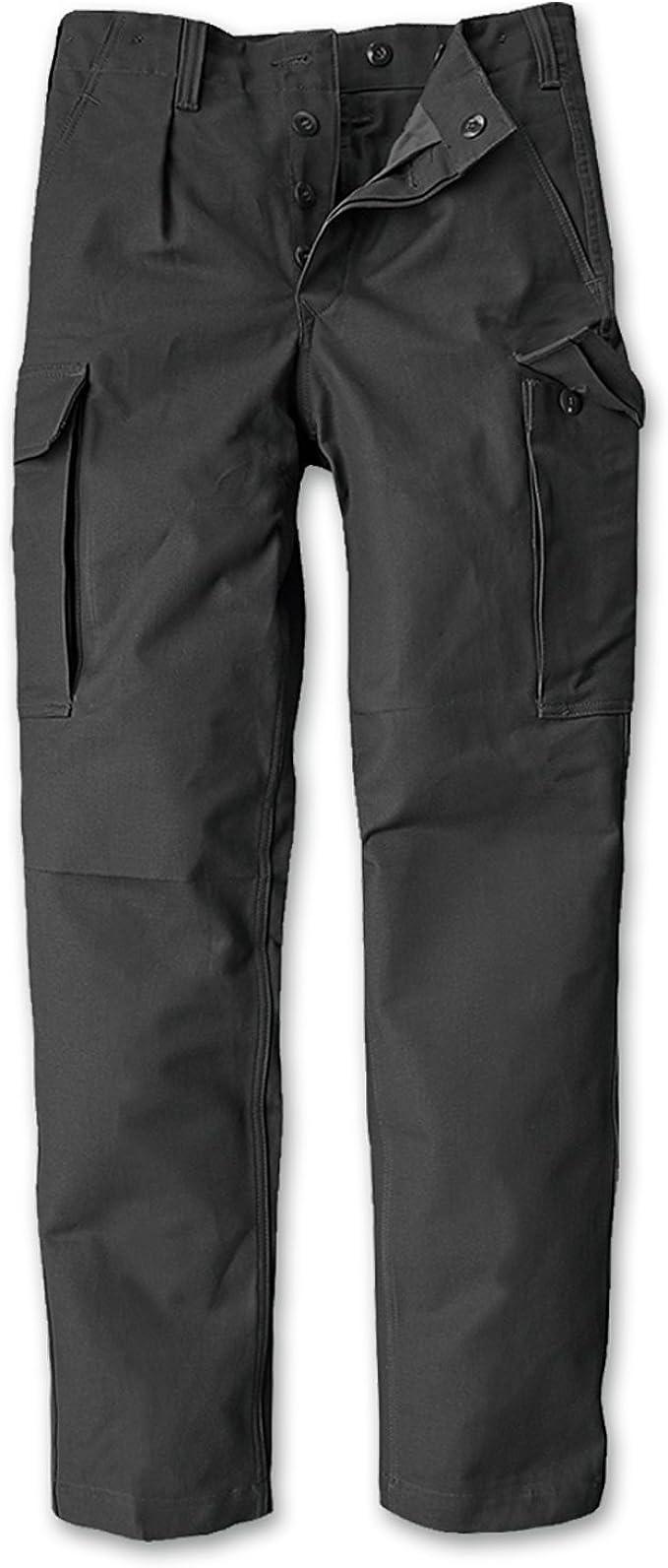 "Original BW Moleskin Trousers /""Washed/"" Field Pants Moleskin Trousers Olive Black Outdoor"