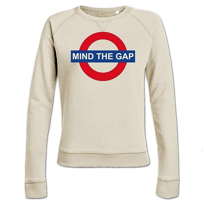 Sudadera de mujer Mind The Gap by Shirtcity: Amazon.es: Ropa y accesorios