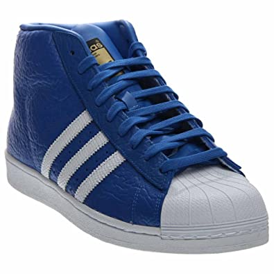 Mens Adidas Originals Pro Model Animal Blue (9.5 D(M) US)