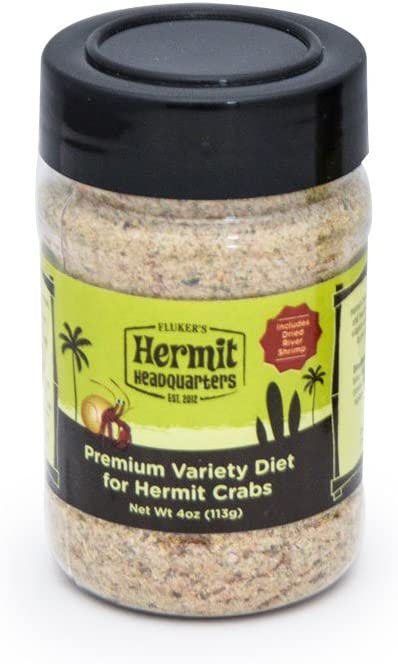 Fluker's Variety Diet - Food for Hermit Crabs, 4-Ounce