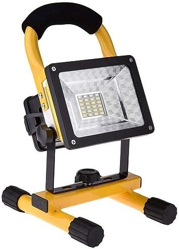 Lámpara de Trabajo Recargable,DINOWIN 30W Impermeable IP65 Foco ...