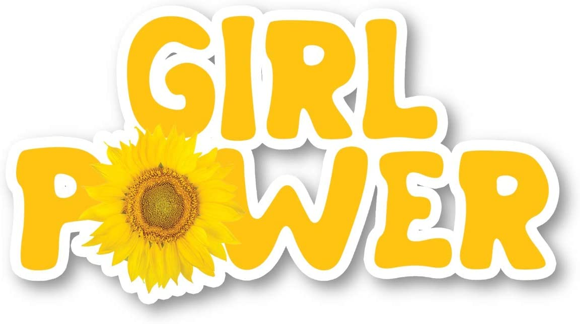Girl Power Sticker Inspirational Quotes Stickers - Laptop Stickers - 2.5