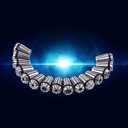 4,2 Mm Schaft F/ür Drehwerkzeug Silber 1,5mm 10 ST/ÜCKE Bohrfutter Spannzangen 1~3,2 Mm