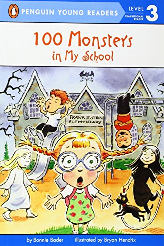 100 Monsters in My School (Penguin Young Readers, Level 3) (Halloween Stores In Nh)