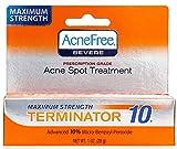 Best Acne Spot Treatments - Acnefree Spot Treatments Terminator 10 Maximum Strength 10% Review