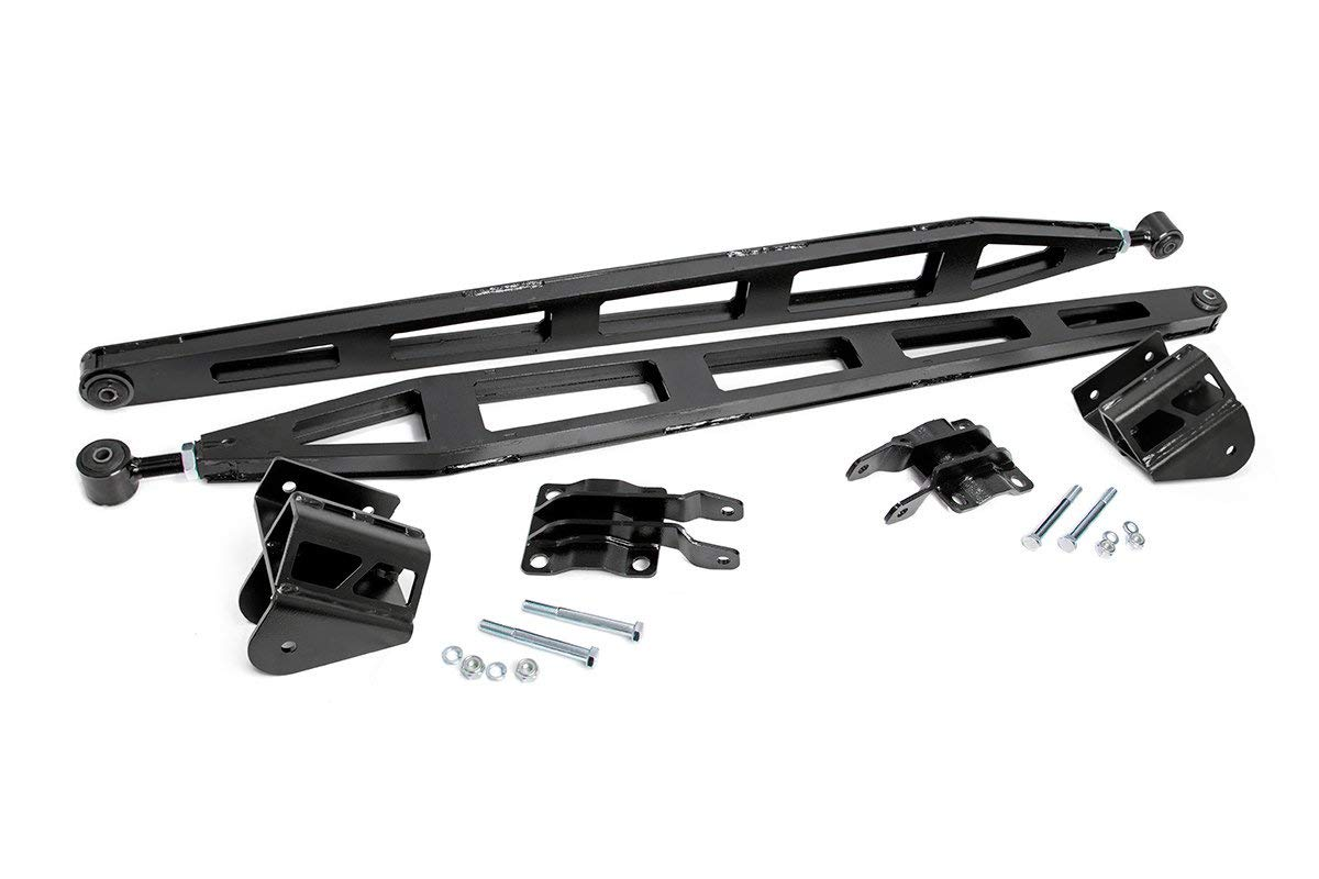 Titan XD 4WD Crew Cab w// 6 Lift 81000 Nissan Rough Country Traction Bar Kit Fits 2016-2019
