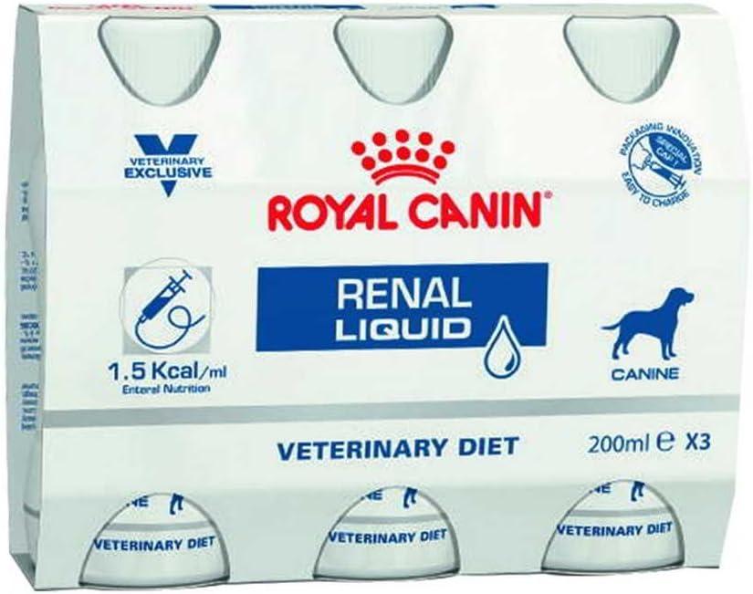 Royal Canin Veterinary Diet Dog Renal Liquid 3 x 200 ml