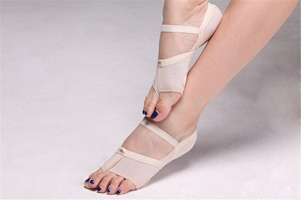 1 Paar Tanzschuhe Bauchtanz Fu/ßpolster Schuhe Tanz