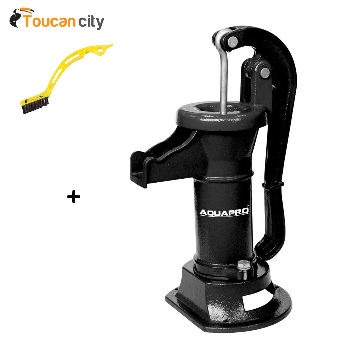 Toucan City Tile and Grout Brush and AquaPro Pitcher Pump 150113