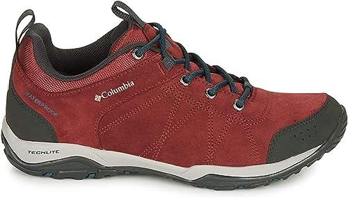 Columbia Fire Venture™ Low Suede Waterproof Sports Shoes Women Red - UK:3 -  Walking Shoes Shoes: Amazon.co.uk: Shoes & Bags