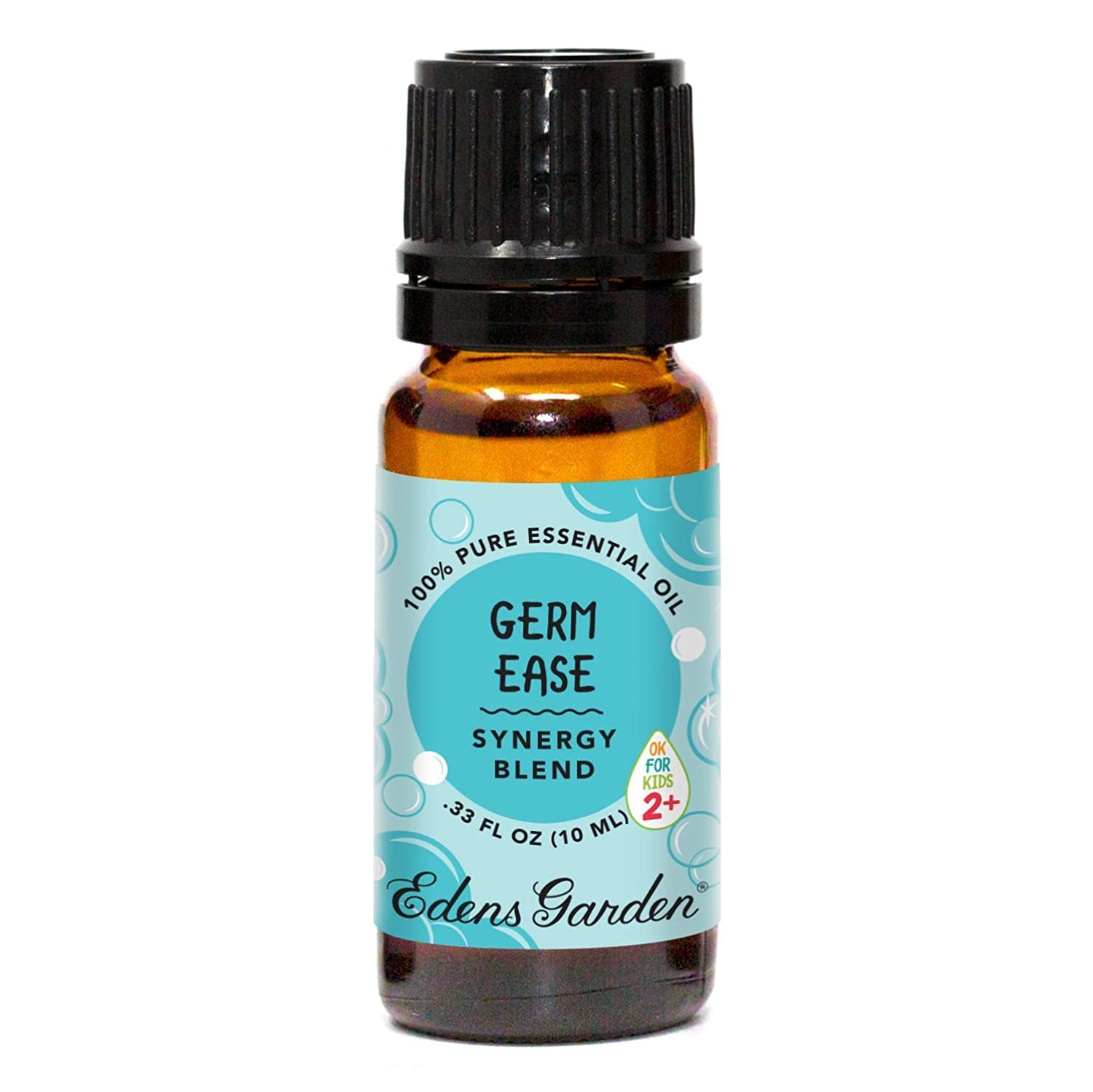 """Edens Garden Germ Ease""""OK For Kids"""" Essential Oil Synergy Blend, 100% Pure Therapeutic Grade (Child Safe 2+, Cold Flu & Detox) 10 ml"""