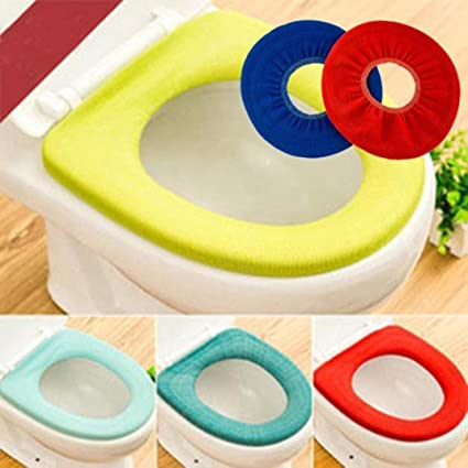 Swell Liping Cloth Toilet Cushion Non Slip Pads Travel Portable Reusable Toilet Potty Training Seat Covers Liners 5Pcs Creativecarmelina Interior Chair Design Creativecarmelinacom